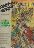 """CHEVALIER ARDENT  """" LE TRESOR DU MAGE """" -  CRAENHALS -  E.O. 1975  CASTERMAN - Chevalier Ardent"""