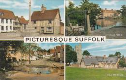 Cp , ANGLETERRE , SUFFOLK , Multi-Vues - Angleterre