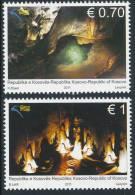 REPUBLIC OF KOSOVO 2011, Kosova Caves, Set Of 2v** - Kosovo