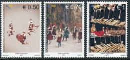 "REPUBLIC OF KOSOVO 2012, ""Folklore - Kosova Dancing"", Set Of 3v** - Kosovo"