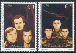 """REPUBLIC OF KOSOVO 2012, """"Beacons Of Freedom"""", Set Of 2v** - Kosovo"""