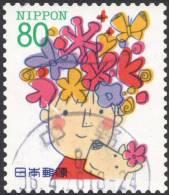Japan, 80 Y. 1995, Sc # 2472, Mi # 2311, Used - 1989-... Emperor Akihito (Heisei Era)