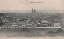 LUNEVILLE ( Vue Generale ) - Luneville