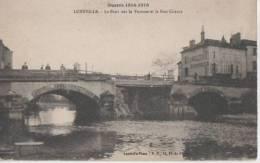 .LUNEVILLE ( .le Pont Sur La Vezouse Et La Rue Chanzy ) - Luneville