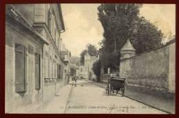 Cpa  Du  95  Margency  La Grande Rue      FRVA3 - France