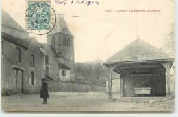 LUDES  - La Place De La Liberté. - Hannut
