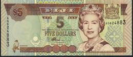 FIJI    P105b   5    DOLLARS    2002     UNC. - Fidji