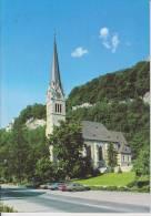 Brochure / Broschüre Kunstmuseum Liechtenstein - Die Kirche St Florin - Vaduz - Architectuur