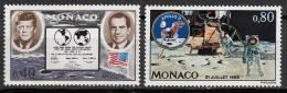 N° 829 Et N° 830 De Monaco - X X - ( E 1594 ) - - Space