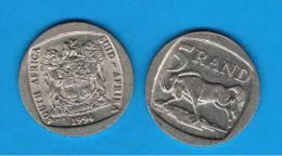 SUD AFRICA -   5  Rand  1994  KM140  -    - Animal Coin - Sudáfrica