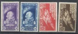 ITALIA REGNO 1935 AERONAUTICO SERIE NUOVA MH* - Nuevos