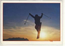 SPORTS D'HIVER - Mono SKI  SCI  Winter Sport , SUISSE  -  Nice Stamp  1992 - Sports D'hiver