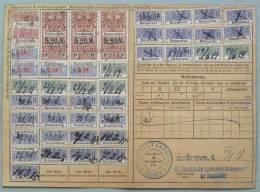 BREMEN - HANNOVER - HANSESTÄDTE / 1915 SELTENE QUITTUNGSKARTE (ref 10) - Briefe U. Dokumente