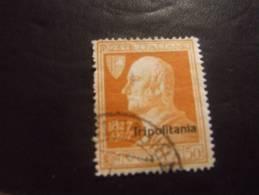 TRIPOLITANIA 1927 VOLTA 50 C USATO - Tripolitania