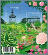 France BF N° F 4384 ** Salon Du Timbre Et De L'écrit 2010 Jardins De France - Jardin Des Plantes Paris - Blocs & Feuillets