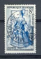 * 1953 N° 956 THÉÂTRE CELIMENE 30.12.195? OBLITÉRÉ - Abarten Und Kuriositäten