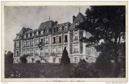 23 -VALLIERES- Colonie Vacance Secours Populaire-Château Du Plat - Frankreich