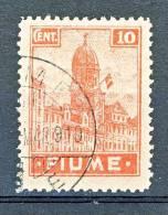Fiume 1919 SS 5 N. 35 C. 10 Carminio E Rosa USATO - Fiume