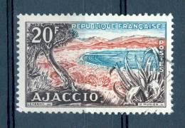 1954 N° 981 TOURISTIQUE CORSE OBLIT - Abarten: 1950-59 Gebraucht