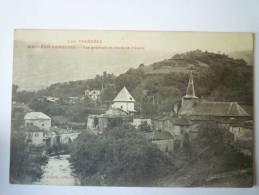 MAULEON-BAROUSSE  (Hautes-Pyrénées)  :  Vue Générale Et Cours De L'OURSE. - Mauleon Barousse