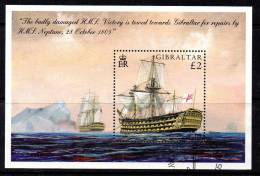 Gibraltar 2005 Bicentenary Of Battle Of Trafalgar MS, Fine Used (ex FDC) (B) - Gibraltar