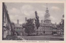 Massachusetts Cambridge Harvard University Lowell House Albertype - Verenigde Staten