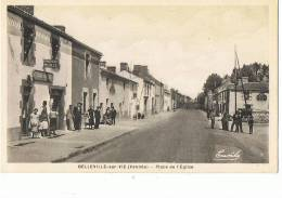 BELLEVILLE Sur VIE --Place De L'Eglise - Frankrijk