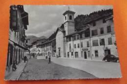 Cp Tolmezzo ( Carnia) Piazza Mazzini E Via Roma - Unclassified