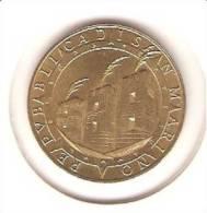SAN MARINO 200 LIRE 1992 PICK KM285 UNC - San Marino