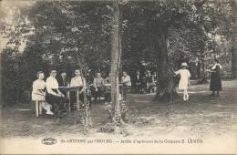 SAINT-ANTOINE Par OBOURG : Jardin D'agrément De La Crémerie E. Lemur - TOP RARE CPA - Mons