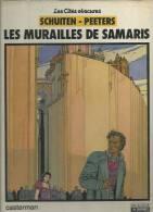 """LES CITES OBSCURES  """" LES MURAILLES DE SAMARIS """" -  SCHUITEN / PEETERS -  E.O. DL. SEPT. 1983 IMP. JUIN 1983  CASTERMAN - Cités Obscures, Les"""