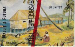 WALLIS Et FUTUNA(chip) - Paysage Wallisienne, Tirage 2000, 06/96, Mint - Wallis And Futuna