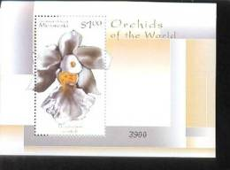 MICRONESIA  369  MINT NEVER HINGED SOUVENIR SHEET OF FLOWERS - ORCHIDS   #  486-5   ( - Flora