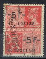 Sello Fiscal BELGICA. Taxes Fiscales 5+5, Usado 1930 º - Revenue Stamps