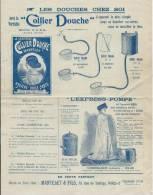 Sant� et Hygi�ne / Les Douches chez soi/ Collier Douche / Mantelet et Fils / Paris /vers 1910  VP576