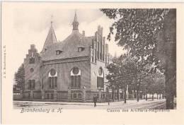 Brandenburg An Der Havel Casino Des Artillerie Regiments Belebt TOP-Erhaltung 1905 Ungeteilte Rückseite Ungelaufen - Brandenburg