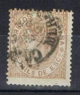 Sello 50 Mils Isabel II 1867, Fechador CARTAGENA (Murcia), Num 96 º - 1850-68 Kingdom: Isabella II