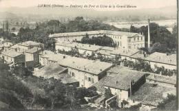 LIVRON FAUBOURG DU PONT ET USINE DE LA GRAND'MAISON 26 - Francia
