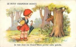 LE PETIT CHAPERON ROUGE ILLUSTRATEUR JIM PATT CONTE Rotkäppchen Little Red Riding Hood Caperucita Roja - Illustrators & Photographers