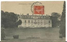 R :indre Et Loire :  MONTS  : Le  Chateau De  La  Roche - France