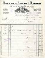 """38.ISERE.VOIRON.MANUFACTURE DE POCHETTES ET MOUCHOIRS.ECHARPES & CARRES DE SOIE. MARQUE """"LE DAUPHIN"""" G.VITTET. - Textilos & Vestidos"""