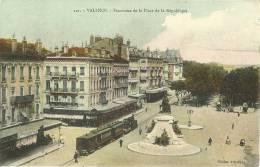 Valence Panorama De La Place De La Republique - Valence