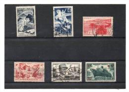 FRANCE   6 Timbres   Année 1941 à 49   Y&T: 502 669 739 777 815 Et 829  (oblitérés) - France
