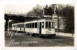 BELGIQUE  TRAMWAYS  GROS PLAN - Belgique