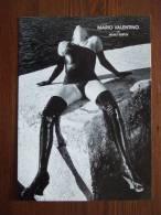 Mario Valentino Sexy Legs Female Carte Postale By Helmut Newton - Pin-Ups