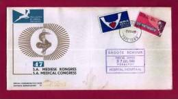 RSA 1969 FDC Nr.11 Medical Congress With Address - Health