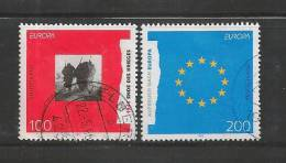 GERMANY 1995 Used Stamp(s) Europa Serie Complete Nrs. 1790-1791 - [7] Federal Republic