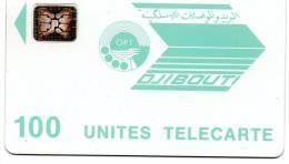 CARTE DJIBOUTI100 UNITES OPT - Djibouti
