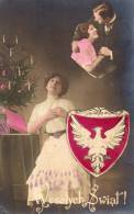 Poland Old Patriotic Postcard - Polonia