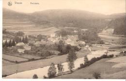 Vresse-sur-Semois: 1914-Panorama-Vue  De La Semois, Du Pont St-Lambert  Et De L´Hôtel Grandjean - Vresse-sur-Semois